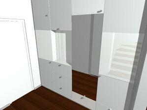 Vitazny navrh satnikovej skrine v predsieni - od Fra, 2009