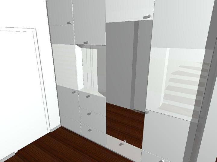 Nas dom - Vitazny navrh satnikovej skrine v predsieni - od Fra, 2009