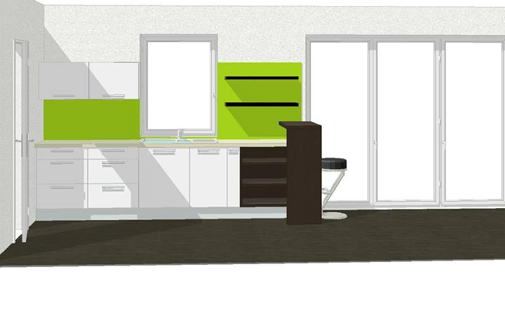 Nas dom - Vizualizacia kuchyna, blizko konecnej verzii, 2009