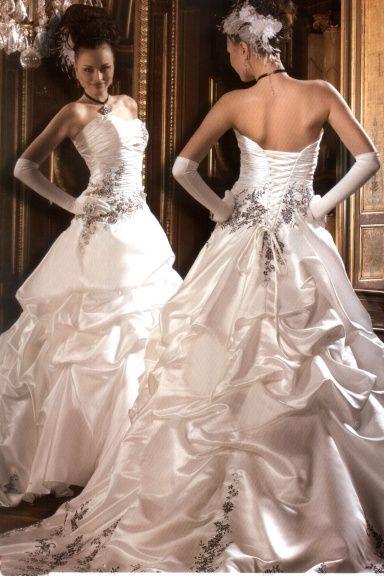 Bára a Jirka - příprava svatby 9.9.2009 v Chodově u KV - Tyhle jsem původně chtěla ...