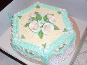 Ochutnávka dortu, ale budeme mít jiný tvar, možná patrový a určitě jinou barvu