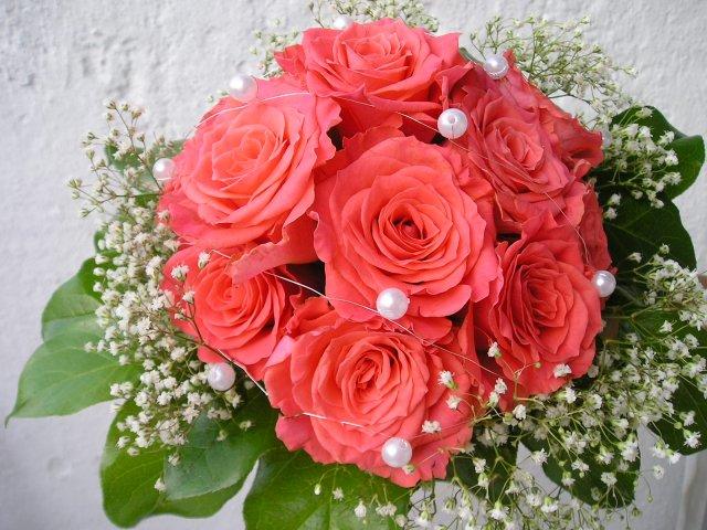 Bára a Jirka - příprava svatby 9.9.2009 v Chodově u KV - Takovou dělala mamka kamarádce
