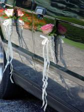 ružičky na aute... nádhera