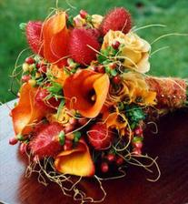 spíše podzimní kytice