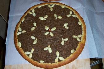 nevěstin koláč - hruškový s madlemi