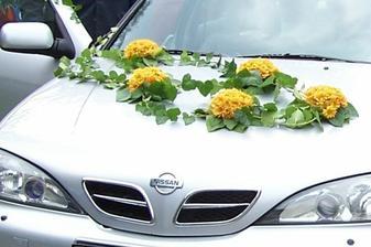 a autíko nevěsty