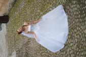 Originál svadobné šaty Justin Alexander, 36