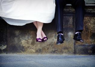 Tato fotka - a vůbec celá svatba, je nádherná!