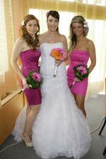 Nevěsta s družičkami PO :-)