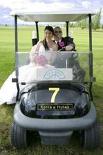 Naše svatební limuzína :-D