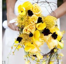 Žlutá pro nevěstu...