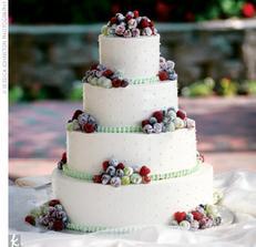 """""""Ledové"""" ovoce pro zimní svatbičku..."""