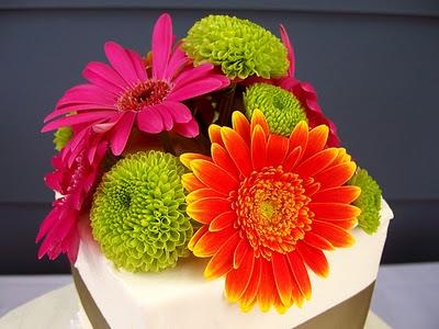 Inspiračky naší Kačky - svatební dorty - Ach... Tohle je tak čisté a luxusní!!!