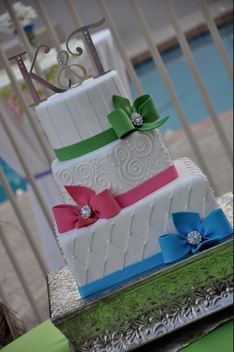 Inspiračky naší Kačky - svatební dorty - Obrázek č. 53