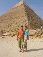 V Gize pri pyramíde..