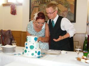 Diskutujeme, jak krájet pomalu se roztékající dort