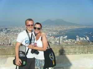 Z našeho svatebního putování po Itálii - Neapol a Vesuv :)