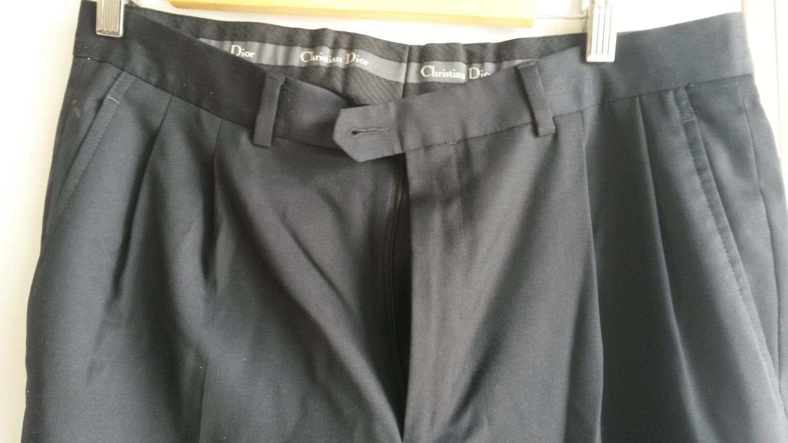Pánske elegantné nohavice - Obrázok č. 2