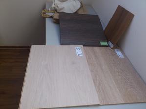 kuchyna ( colorado Oak) a dvaja favoriti - dub relax ( bily) a dub strong
