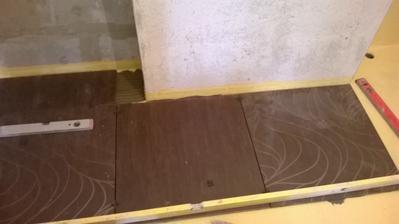 podlaha v kupelni - zaciatok