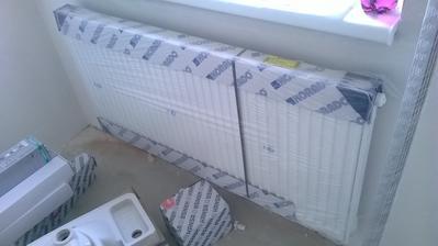 konecne namontovane radiatory