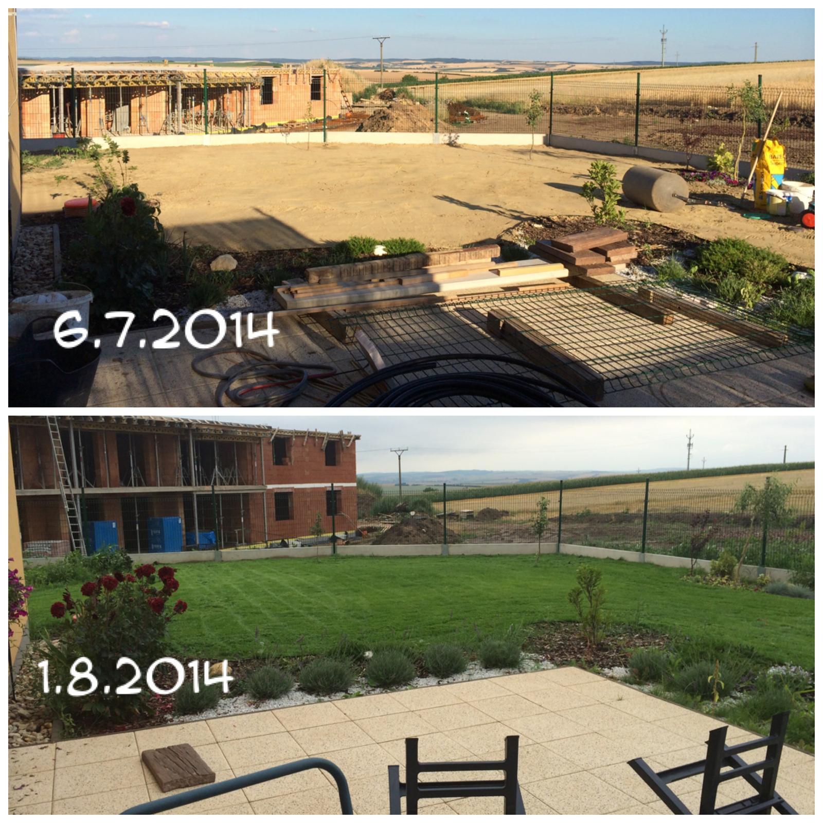 Zahradka nasa 2015 - konecne normalna zahrada :)