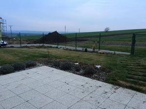 Pokoseny travnik.. Snad se brzo vzpamatuje :)
