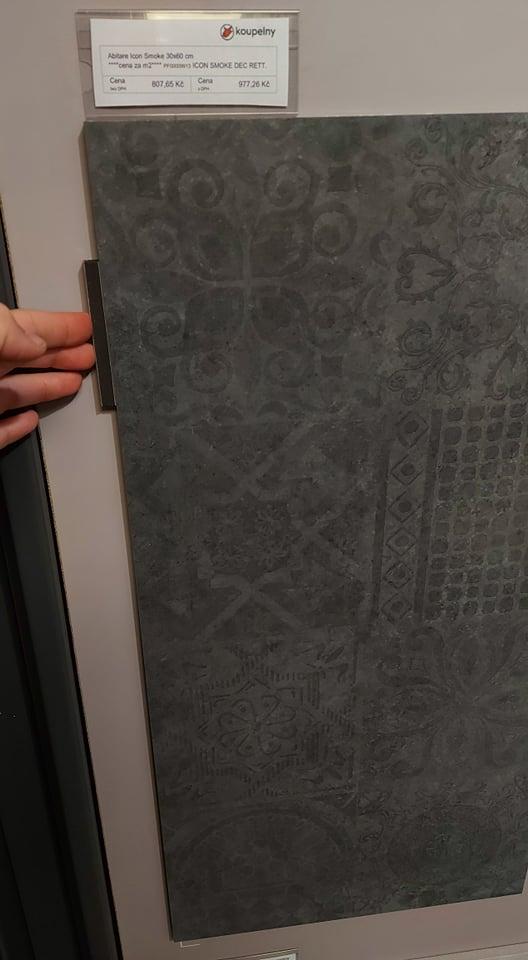 Koupelna-z ceho sme vybirali - ABITARE la cermaica ICON black decor