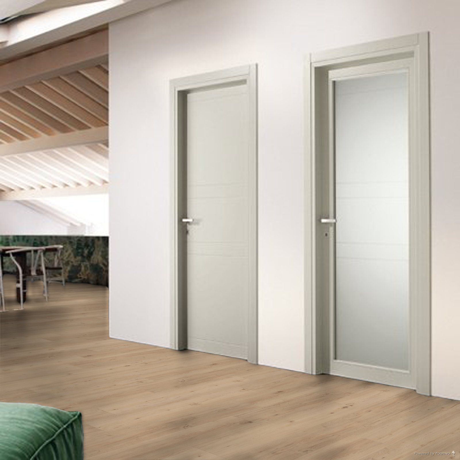 Co vyberem za dvere? - hedvabne seda