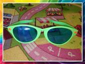 Velké brýle - zelené,