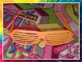 Brýle - oranžové,