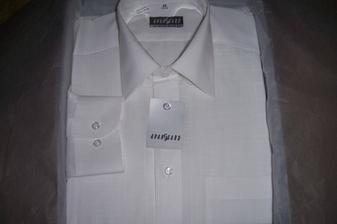 ženichova nová košile