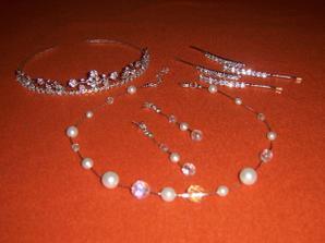 nakoupené šperky