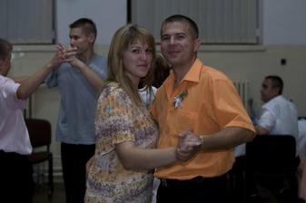 sestřička nevěsty s manželem