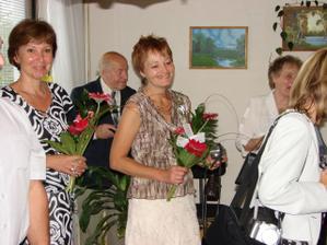 Maminky se svými kytičkami - očividně spokojené!