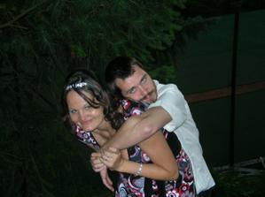 Ženichovi i nevěstě bylo ten den moc krásně...