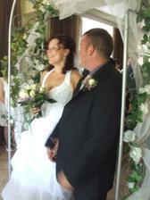 Šťastná nevěsta :-)