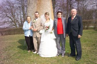 mi s maminkou a prarodičemi