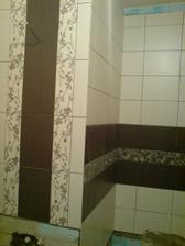 vpravo bude sprchovy kut a vlavo umyvadlo