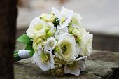 Svatební kytice.,