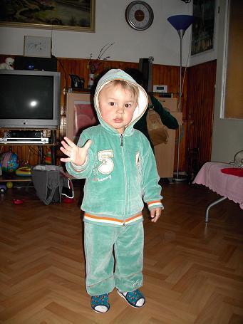 Adelka Barčiaková{{_AND_}}Daniel Ďuriak - 18 mesačný synček ako to rastie že?