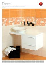 snad poslední varianta do spodní koupelny... matný obklad Dream od firmy Kerko