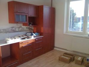 Kuchyně - skoro hotová:)