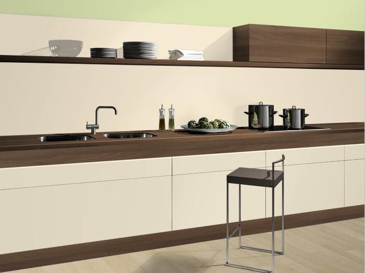Naša kuchyňa - made by ALV Trnava - Orech aida/vanilka