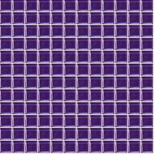 Decentně doplněné fialovou mozaikou
