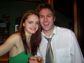 svědkyně Brigita s přítelem Kemblem