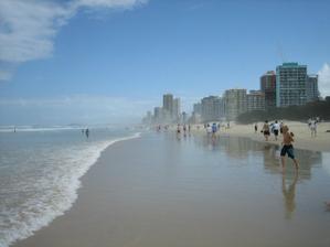 apartmany a byty na plazi nedaleko Brisbane na Gold Coast