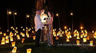 svetielka z papiera... romanticno ;)