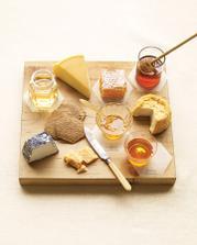 sýry a med