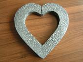 Polystyrenové srdce cca 24 cm,